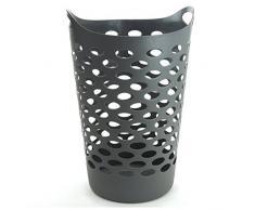 JJA JJ117075 - Cesto para ropa (60 L), color gris