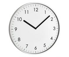 TFA Dostmann reloj de pared con diseño moderno de su diseño 60,3026,02 Plata