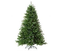 Catral Lund - Árbol de Navidad, altura de 2,10 m, color verde