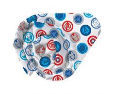 CTI - Sábana Bajera 044256 «Univers Avengers Mission City» para niños en algodón Azul - Sábana de 190 x 90 cm.