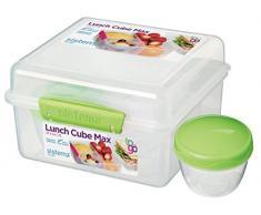 Sistema to Go Lunch Cube Max - cazuela de plástico para el almuerzo,capacidad 2 L, colores surtidos, 1 unidad