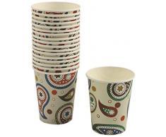Villa dEste 2301715 Cachemire Juego de 20 Vasos de Papel