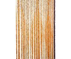 Catral 71060016 Cortina de Madera Diamond L60, Naranja y Amarillo, 200 x 90 cm