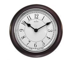 Acctim 24586 Newton Reloj de pared de madera oscura