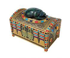 Joyero con diseño de egipcio Royal Toscano navaja multiusos