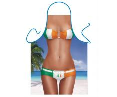 Iconic Delantales de Gales Bikini Delantal, Poliéster, 79 x 56 x 0,1 cm