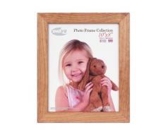 Inov2 Kayla - Marco de madera de roble para fotos (2 unidades, 25,4 x 20,3 cm), color claro