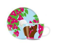 RITZENHOFF Taza de café, Porcelana, Multicolor