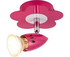 Los niños HEITRONIC LED lámpara de pared y de techo FLOWER