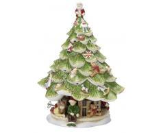 Villeroy & Boch Christmas Toys Memory Caja de música Abeto, Porcelana, Blanco/Verde