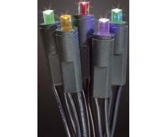 Hellum 563955 - Guirnalda de luces LED para interior (100 bombillas), multicolor