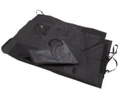 Nobby Protector de maletero Manta de lujo con bolsillos, 121 x 153 cm), color negro