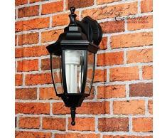 Rústico Aplique para exterior Lyon/E27hasta 60W 230V/IP44Impermeable/exterior lámpara de pared Lámpara Patio Jardín