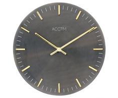 Acctim 27683 Pullman Reloj de pared metálico, color bronce