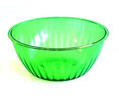 Pica Italia Ensaladera de la Línea «Sole», Grande, de plástico, Color Verde, 25x 25x 12cm