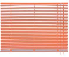 mydeco 62762 cortina persiana (aluminio, 90 x 175 cm), color naranja