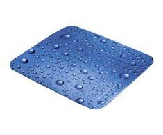 Kleine Wolke 5313769001 Bubble - Alfombrilla Antideslizante para Ducha, diseño de Burbujas, Color Azul