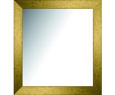Lienzos Levante Espejo Decorativo Vestidor/Cabecero, Madera, Oro, 152 x 42 cm