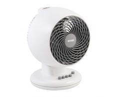 Iris Ohyama, ventilador silencioso, oscilante y potente - Woozoo - PCF-M18, blanco, 32 W, 23 m²