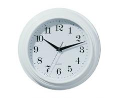 Premier Housewares - Reloj de pared (26 cm, estilo vintage), color blanco