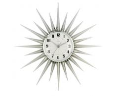 Acctim 21767 Stella Reloj de pared, color plateado