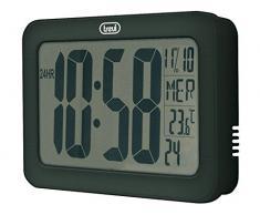 Trevi OM 3328 D - Reloj de pared (AAA, Negro)