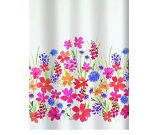 Spirella 10.16402 Campo - Cortina de ducha textil (180 x 200 cm), multicolor