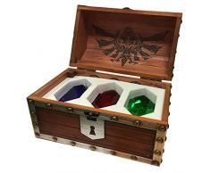 Zelda - Baúl Colector, colección Madera 3 Rubis /6, Multicolor, 25
