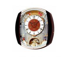 Seiko QXM250B - Reloj de pared con melodías