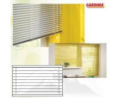 Gardinia 7840 - Persiana (aluminio, 25mm, 40x175cm), color blanco