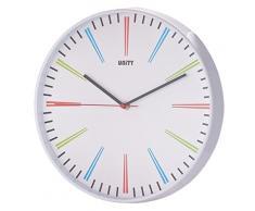 Uniti Siddal - Reloj de pared moderno, 30 cm, multicolor