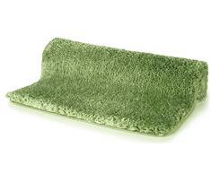 Spirella 55 x 65, Verde colección Highland, Alfombrilla de Ducha, 100% Polyester-Microfibra
