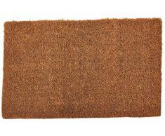 William Armes Dandy Kersey - Felpudo de fibra de coco con yute (60 x 35 cm, tejido a mano)