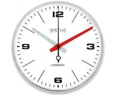 Roger Lascelles SM/Drake/Chrome Reloj, Metal, Cromado, 25 x 8 x 25 cm