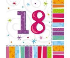 Amscan 991412 - Vajilla para fiestas