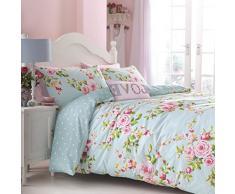 Catherine Lansfield Canterbury - Juego de sábanas + bajera para cama de 90 cm
