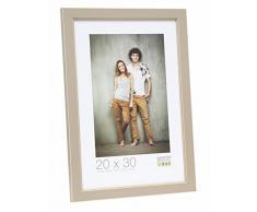 Deknudt Frames Marco de Fotos Color: Beige, para Fotos con diseño de tamaño: 8,92 cm x 12,88 cm