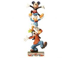 Disney Traditions – Figura Decorativa de Torre tambaleante.