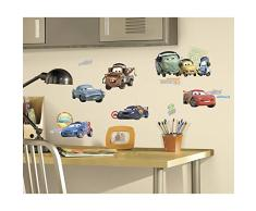 RoomMates RMK1583SCS - Pegatinas de pared, diseño Cars 2 personajes