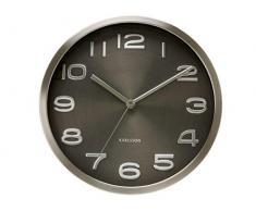 Karlsson Maxie - Reloj de pared, color negro