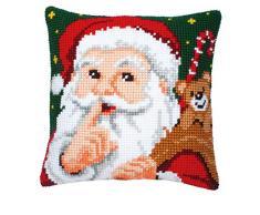 Vervaco Almohada - Shh! Papá Noel