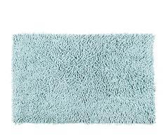 Alfombrista Gloria Alfombra de Baño, Algodón, Azul Claro, 50 x 80 cm