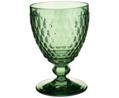 Villeroy & Boch Boston Coloured Copa de Vino Tinto Green, 310 ml, Cristal, Verde