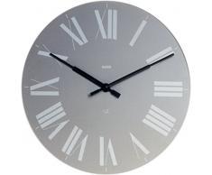Alessi 12 G - Reloj de pared, color gris