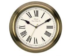 Acctim 26708 Redbourn Reloj de pared, color dorado