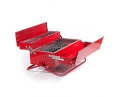 SUCK UK SK BBQTOOL1 - Caja de herramientas barbacoa