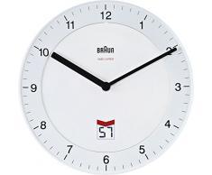 BRAUN BNC006WHWH - Reloj analógico de pared blanco