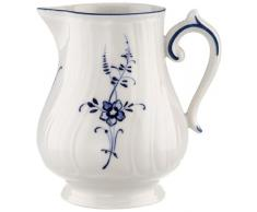 Villeroy & Boch Vieux Luxembourg Jarrita de Leche, 300 ml, Porcelana Premium, Blanco/Azul