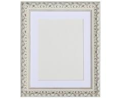 Tailored Frames Marcos a Medida de la Gama Viena. Marco de Fotos y Fotos en Color Blanco con Marco de Color Blanco de 40 x 30 cm para 30 x 20 cm