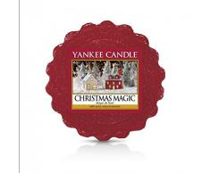 YANKEE CANDLE Tarts - Velas de té, diseño navideño, 8,4 x 6,1 x 1 cm